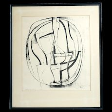 Mid Century Lithograph by Donald Roberts (1923-2015)