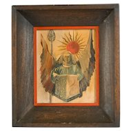 Mid Century Watercolor, Ecclesiastical Subject