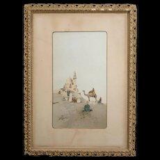 Raffaelle Mainella , Chromo Lithograph,Holy Lands c.1865-1895