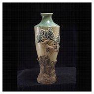 Vintage Studio Pottery Vase, J. Dearden, 1977