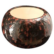 "Massive Vintage ""Reddell of California"" Controlled Drip Ceramic Pot"
