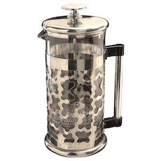Rare Circa 1987 Memphis Design Bodum Coffee Maker by George J. Sowden