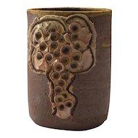 Mid-Century Cercamic Vase by Bodil Marie Nielsen, Denmark