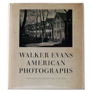 Walker Evans, American Photographs, 2nd Edition, 1962
