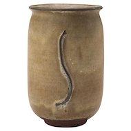 Vintage 1970's Ceramic Vase signed Sanger