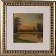 Original Hudson River School Oil Painting