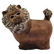 Mid Century Ceramic Lion