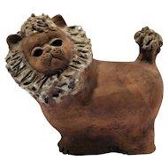 Mid Century Ceramic Lion