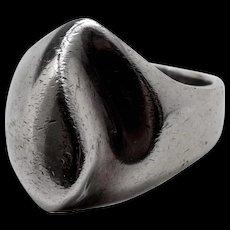 Signed Vintage Sterling Silver Ring