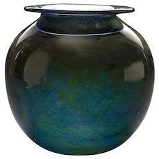 Donald Carlson Art Glass Vase, circa 1971
