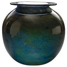 Donald Carlson Art Glass Vase, circa 1971