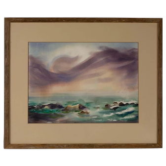 Original Watercolor by Charles Frederick Surendorf