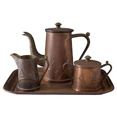 1902-1907 Gebrüder Bing Nuremberg (GBN) Tea Coffee Set