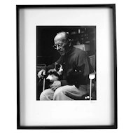 Portrait of Edward Weston by Ferenc Berko
