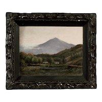Original Oil Painting by Charles Albert Rogers, Mt. Tamalpais