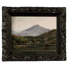 Original Oil Painting by Charles Albert Rogers, Mt. Tamalpais