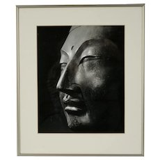 Buddha Vintage Silver Bromide Photograph