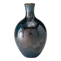 Vintage 1990 Ray West – Camp Nelson period, Crystalline Glaze Vase