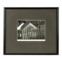 Vintage Photograph by Arnold M. Wheelock, Early Ansel Adams Student