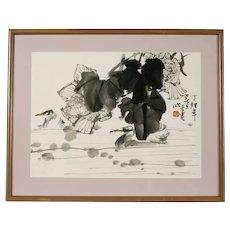 Original Chinese Ink Drawing