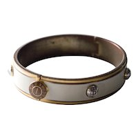 Vintage Henri Bendel Rivet Bangle Bracelet