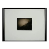 "David Michael Kennedy, Original Palladium Print, ""Bass Harbor Light, Bass Harbor Maine."""