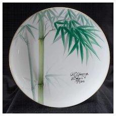 Signed Vintage Noritake Nippon Toki Kaisha Plate