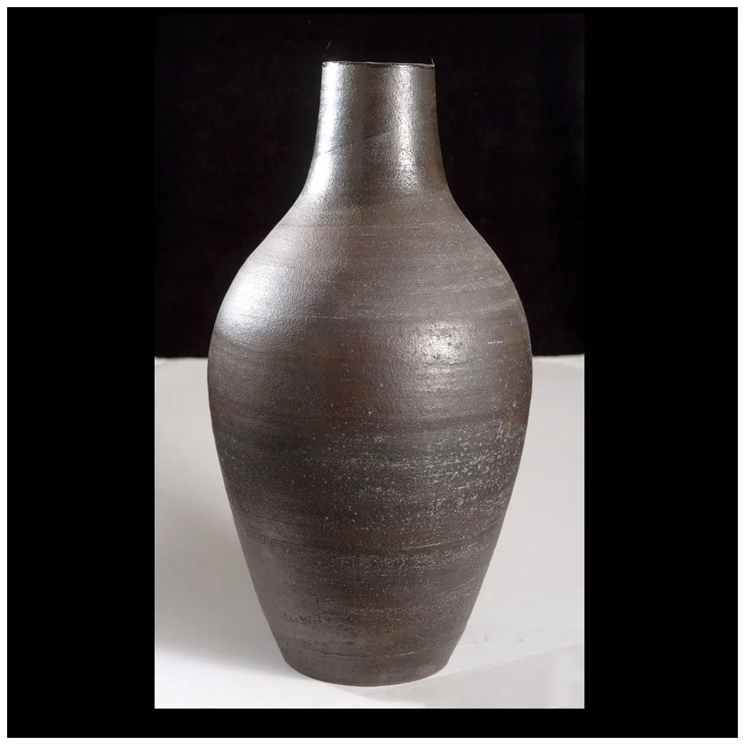 Vintage paul volckening ceramic vase cypress studio ruby lane vintage paul volckening ceramic vase click to expand reviewsmspy
