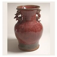 Fine 20th Century Vase, American Studio Pottery in the Chinese Manner