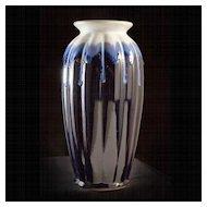 Vintage 1920's Japanese Art Deco Flambe Vase