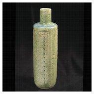 Vintage 1950's Palshus C5 Chamotte Ceramic Vase Denmark