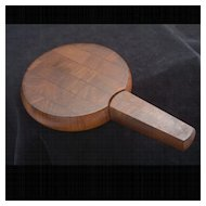 "Vintage ""Dansk Designs Denmark HQ"" Teak Cheese Board Set"