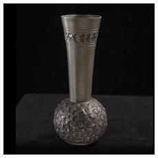 Fabulous Mid-Century Selandia Norway Pewter Vase