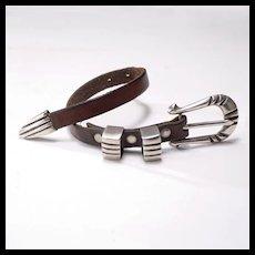 Signed Vintage Rock and Roll Bracelet