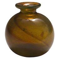 Vintage Feher Art Glass Vase