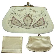 1920's Saks Fifth Avenue Vintage Wedding Purse