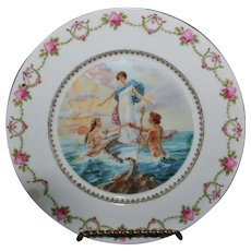 Vintage Victoria Austria Decorative Plate