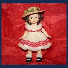 1955 Madame Alexander Kin Doll (Wendy #447) and Wardrobe
