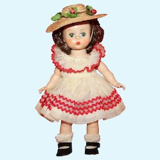 1955 Madame Alexander Kin Doll (Wendy #447) and Wardrobe