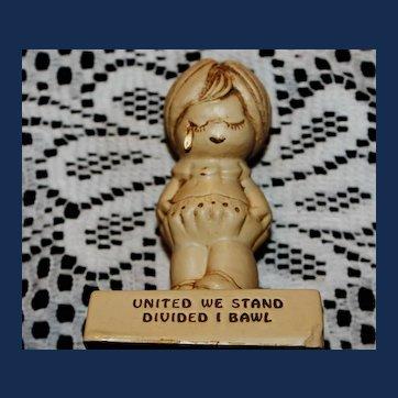 Vintage Paula 1970 Figurine W-144