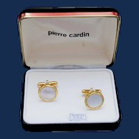 Vintage Pierre Cardin Mother of Pearl Cufflinks