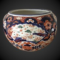 Large Antique Japanese IMARI Jardiniere