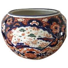 Large Antique Japanese IMARI Jardiniere