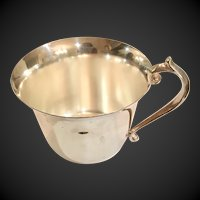 Set of 10 Silver Plate Punch/Drink  CUPS 6 OZ