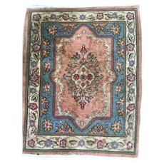 "Beautiful Unpainted Antique Persian Sarouk handmade Rug 2'3"" x 3'"