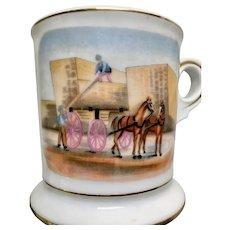 Porcelain Vintage Shaving Mug