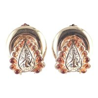 Rossi Bijoux France Dore Earrings