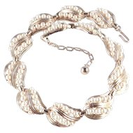 Trifari Faux Pearl Necklace