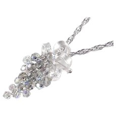 Park Lane Bead Cluster Dangle Pendant Necklace Brooch