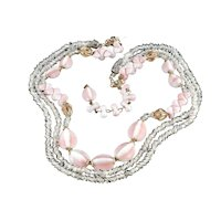 Alice Caviness Art Glass Bead Necklace